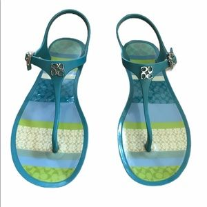 COACH Jelly Thong Sandals